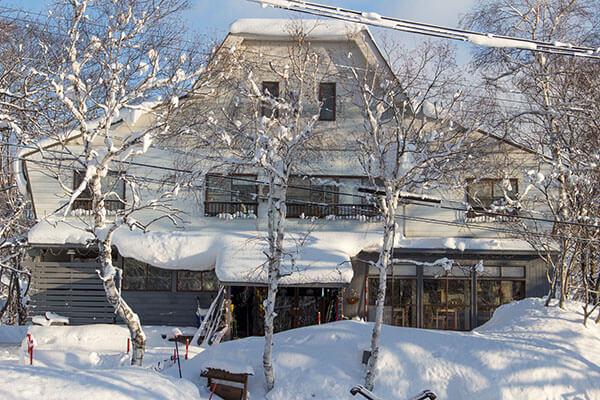 winter lodge