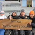 The snowboard training squad from Hong kong, Steve,Joe, Blackson & Shun.
