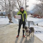 1006KM run so far with my borrowed dog