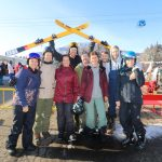 NZ ski buddies ready for a great day at Suginohara Ski resort
